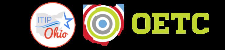 ITIP Ohio logo, OETC 2017 logo