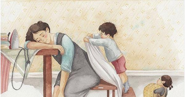 Mẹ và con gái: bộ tranh chạm đến những tình cảm ngọt ngào và bình dị nhất!
