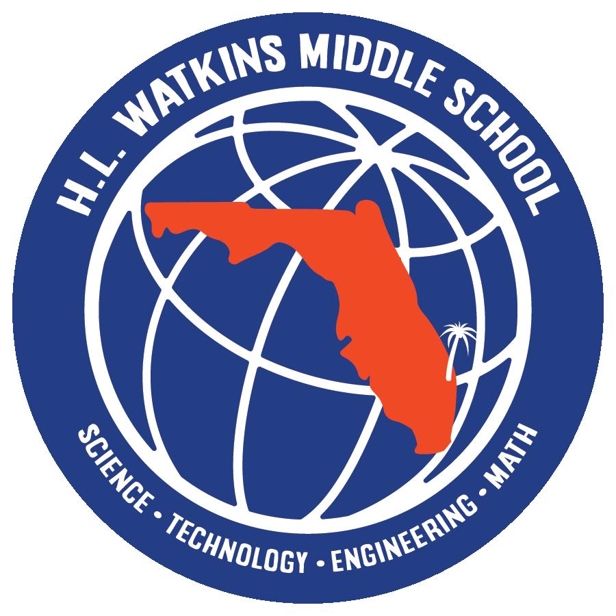 HL Watkins Middle School Logo