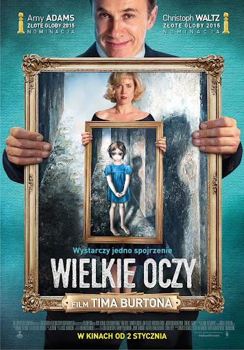 Polski plakat filmu 'Wielkie Oczy'