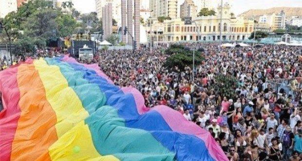Torcedores do Flamengo no Orgulho gay
