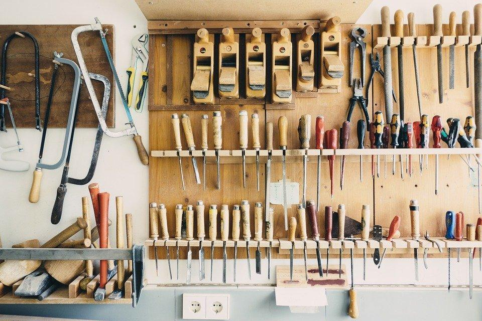 Tools, Workshop, Equipment, Construction, Screwdrivers