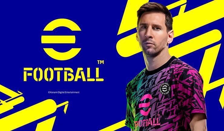 Lionel Messi di eFootball.