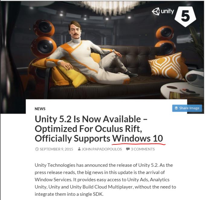 Unity5Oculus
