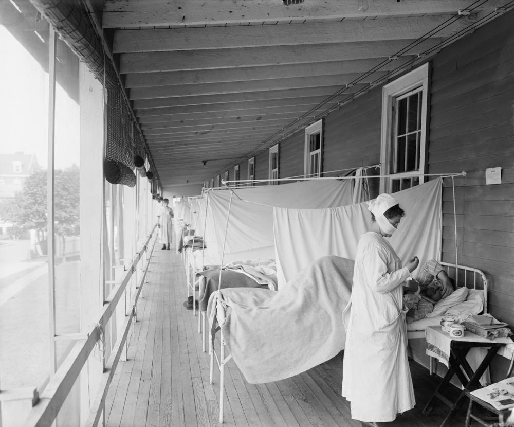 O campo de estudos sobre epidemias tem muito a ensinar sobre a pandemia atual. (Fonte: Everett Collection/Shutterstock)