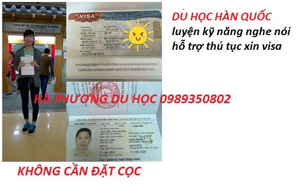 Du hoc Han quoc phi 1 nam nha o 6 thang ho tro visa nhanh khong coc