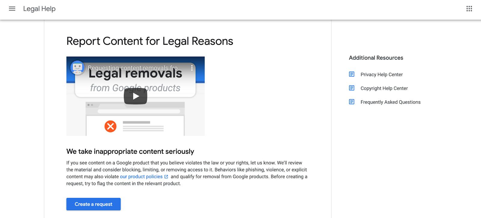 create request hapus jejak digital