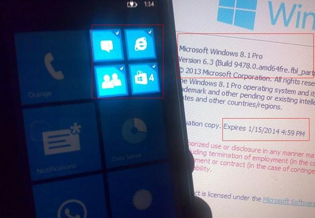 Windows Phone 8.1 rumors hint at personal assistant and notifications tile