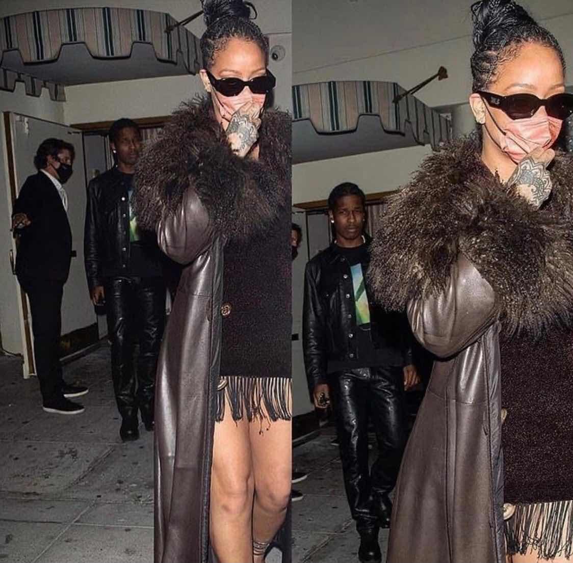 Spotted ; A$ap Rocky & Rihanna