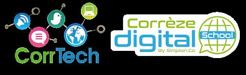 CorrTech, Territoire Numérique & Corrèze digital School