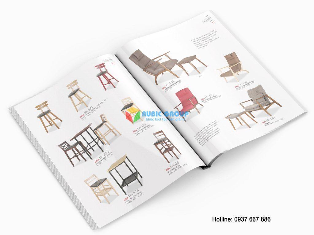 Một thiết kế catalogue chuyên nghiệp giúp khách hàng xem và đánh giá sản phẩm tốt hơn