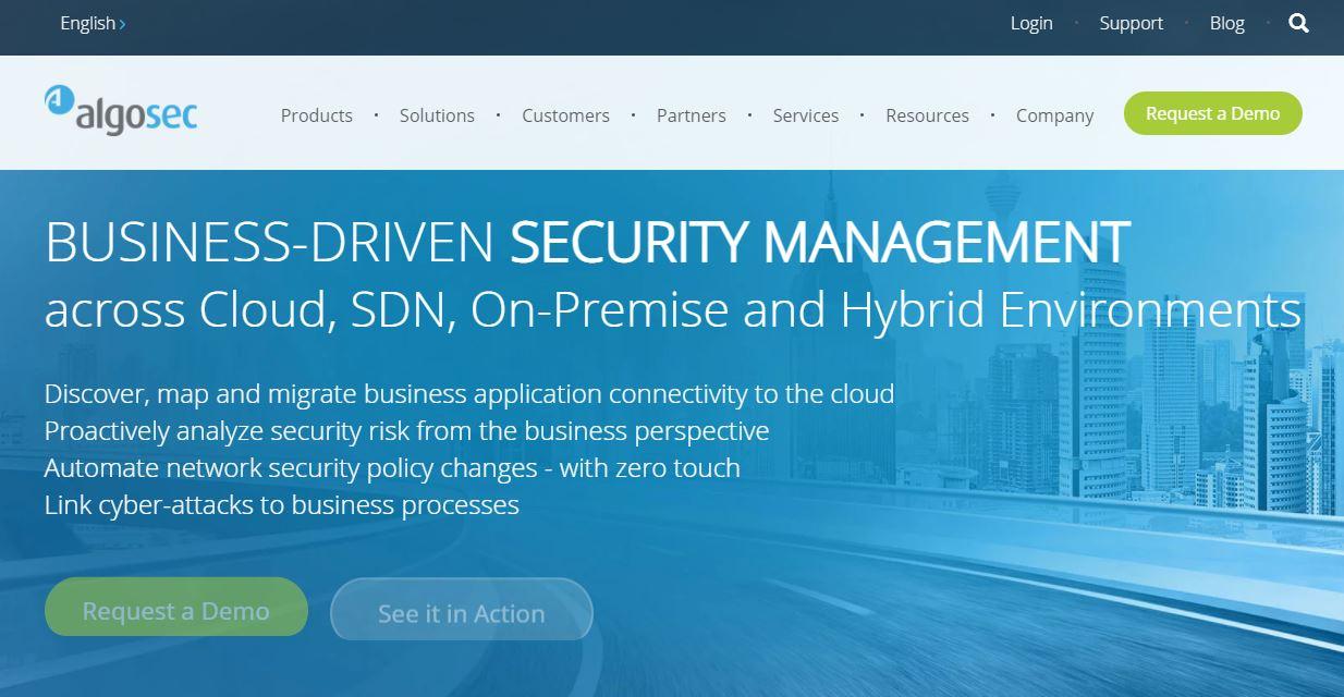 AlgoSec Cybersecurity Company