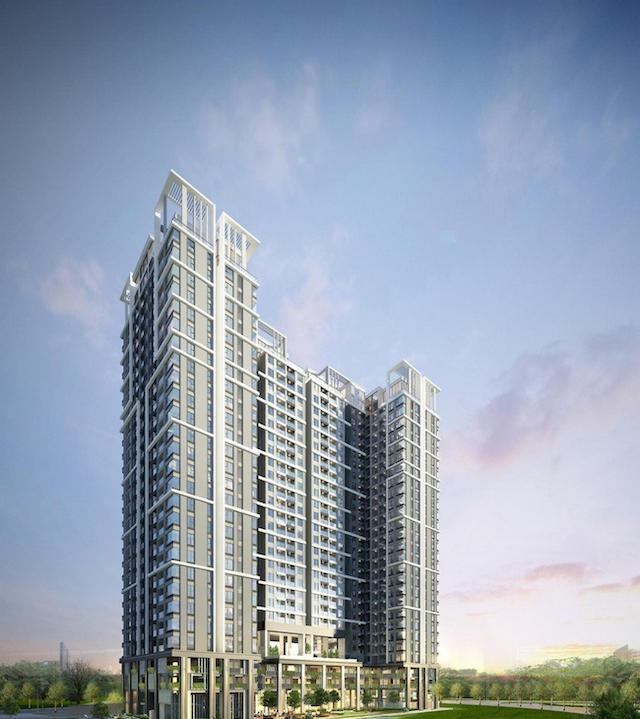 Dự án căn hộ C River view được thiết kế theo phong cách Châu Âu
