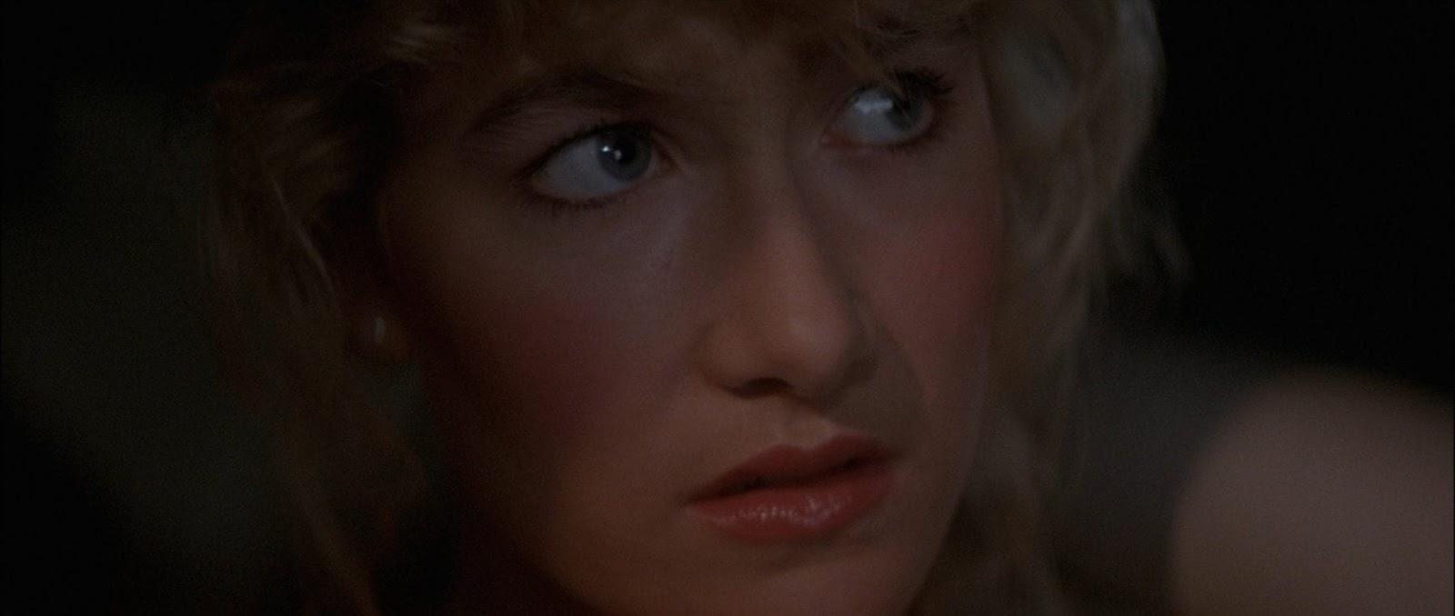 Sandy Williams in Blue Velvet