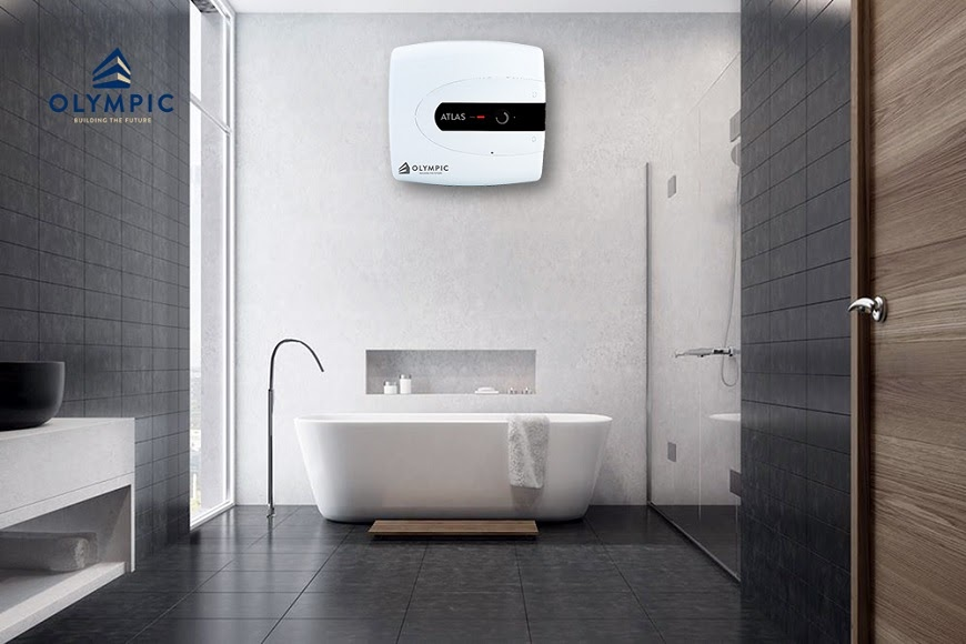 Bồn tắm nằm thích thích hợp với phòng tắm hiện đại có không gian rộng