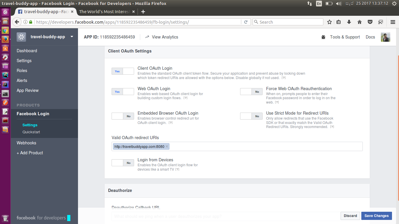 OAuth2 Implicit Grant Flow - Example Using Facebook OAuth2