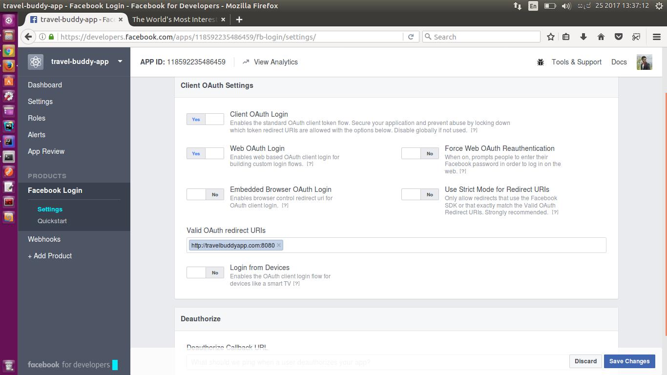 OAuth2 Implicit Grant Flow - Example Using Facebook OAuth2 API