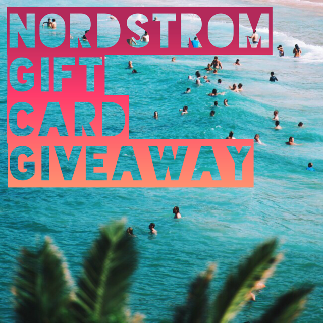 $150 Nordstrom Gift Card Giveaway
