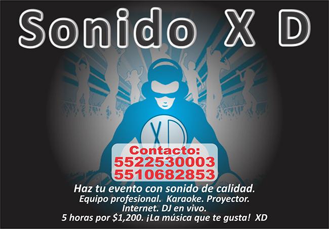 SONIDO XD
