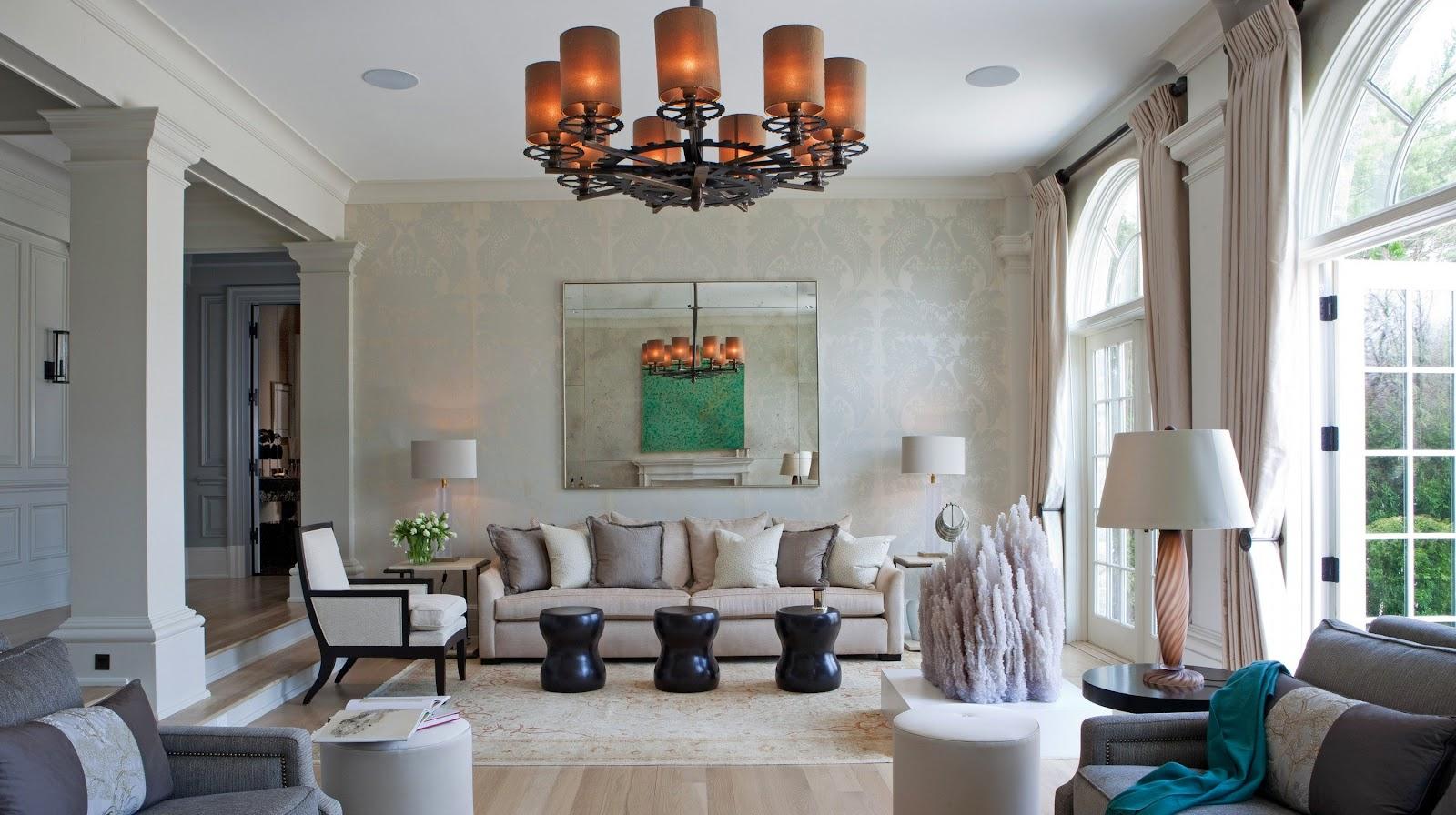 Hunian dengan desain interior art deco karya studio desain interior Taylor Howes - source: taylorhowes.co.uk