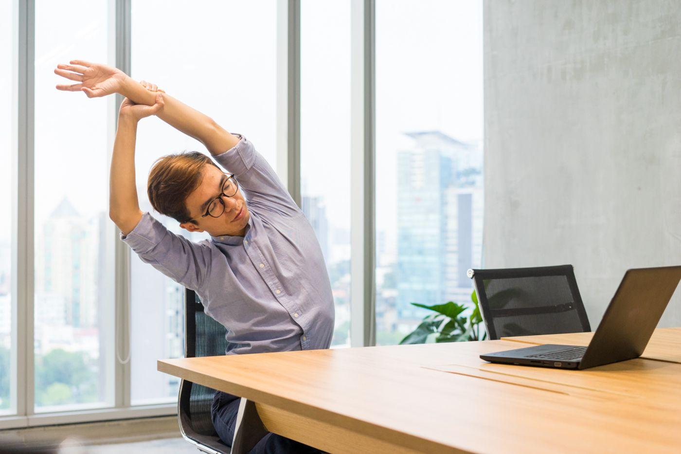 bài tập thể dục tại chỗ hiệu quả cho dân văn phòng