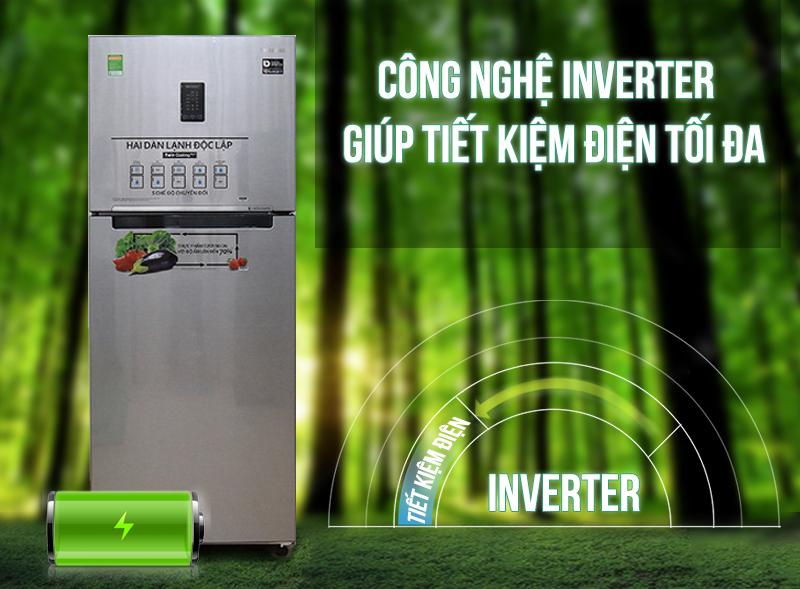 Công nghệ Digital Inverter - Tủ lạnh Samsung Inverter 443 lít RT43K6331SL/SV