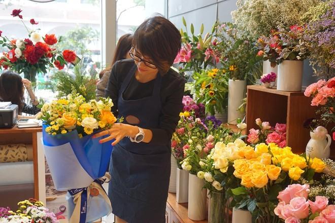 Kết quả hình ảnh cho kinh doanh bán hoa tươi