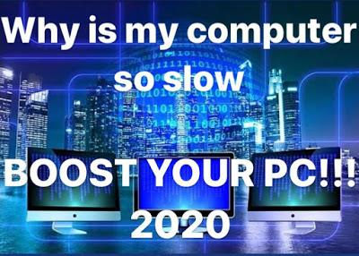 Why is my computer so slow