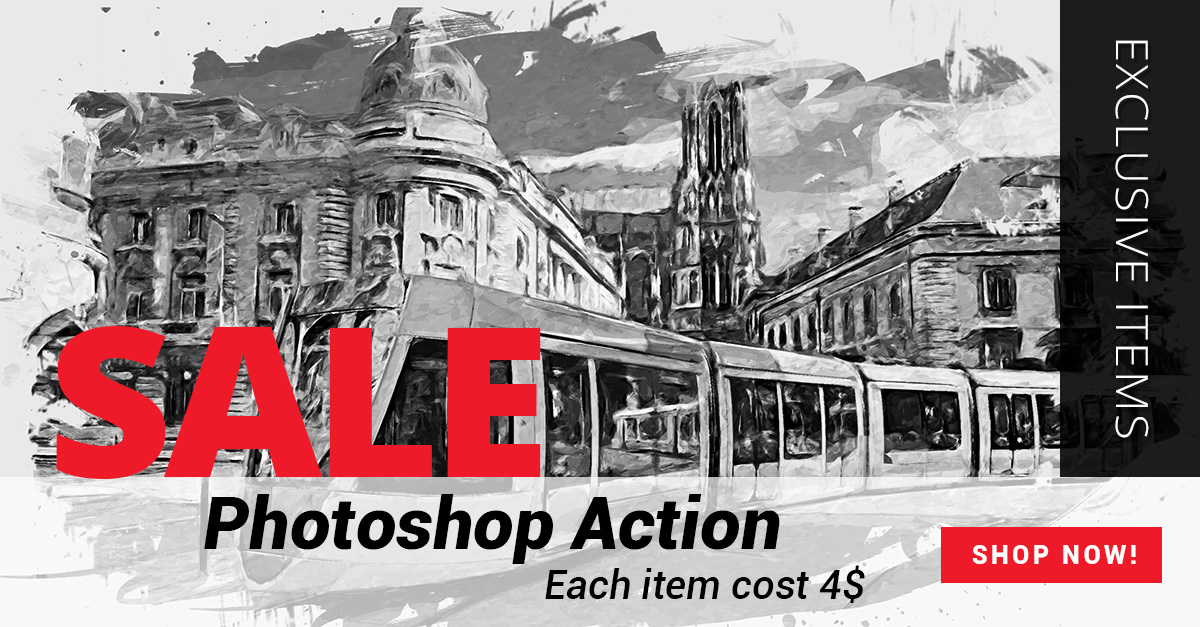 RetroPoster - Photoshop Action - 3