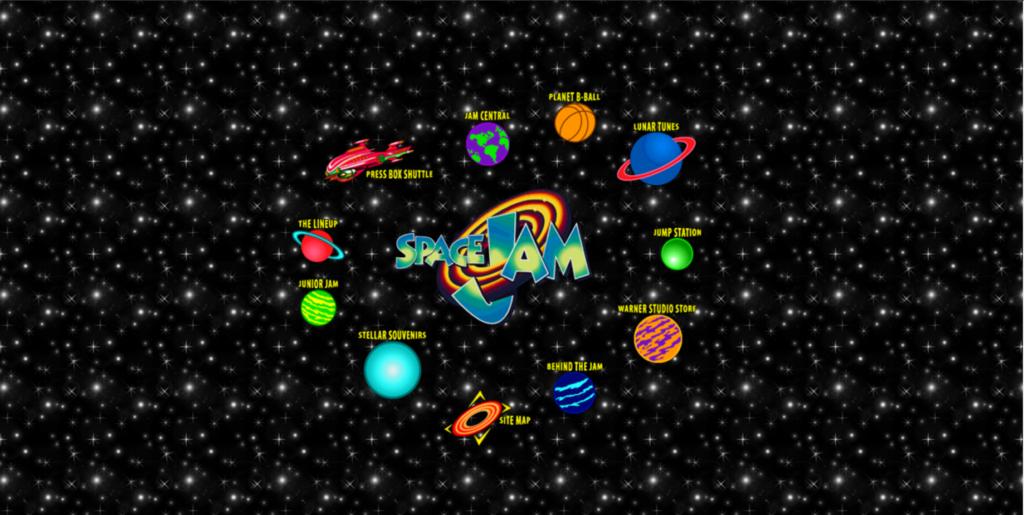 Equilibrio radial de Space Jam