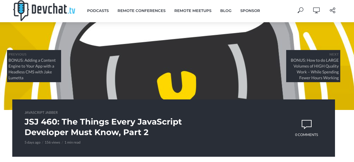 Top JavaScript Experts And Thought Leaders to Follow javascript jabber