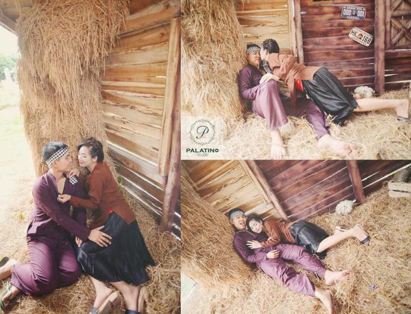 chụp ảnh cưới phong cách làng quê ở palatino studio