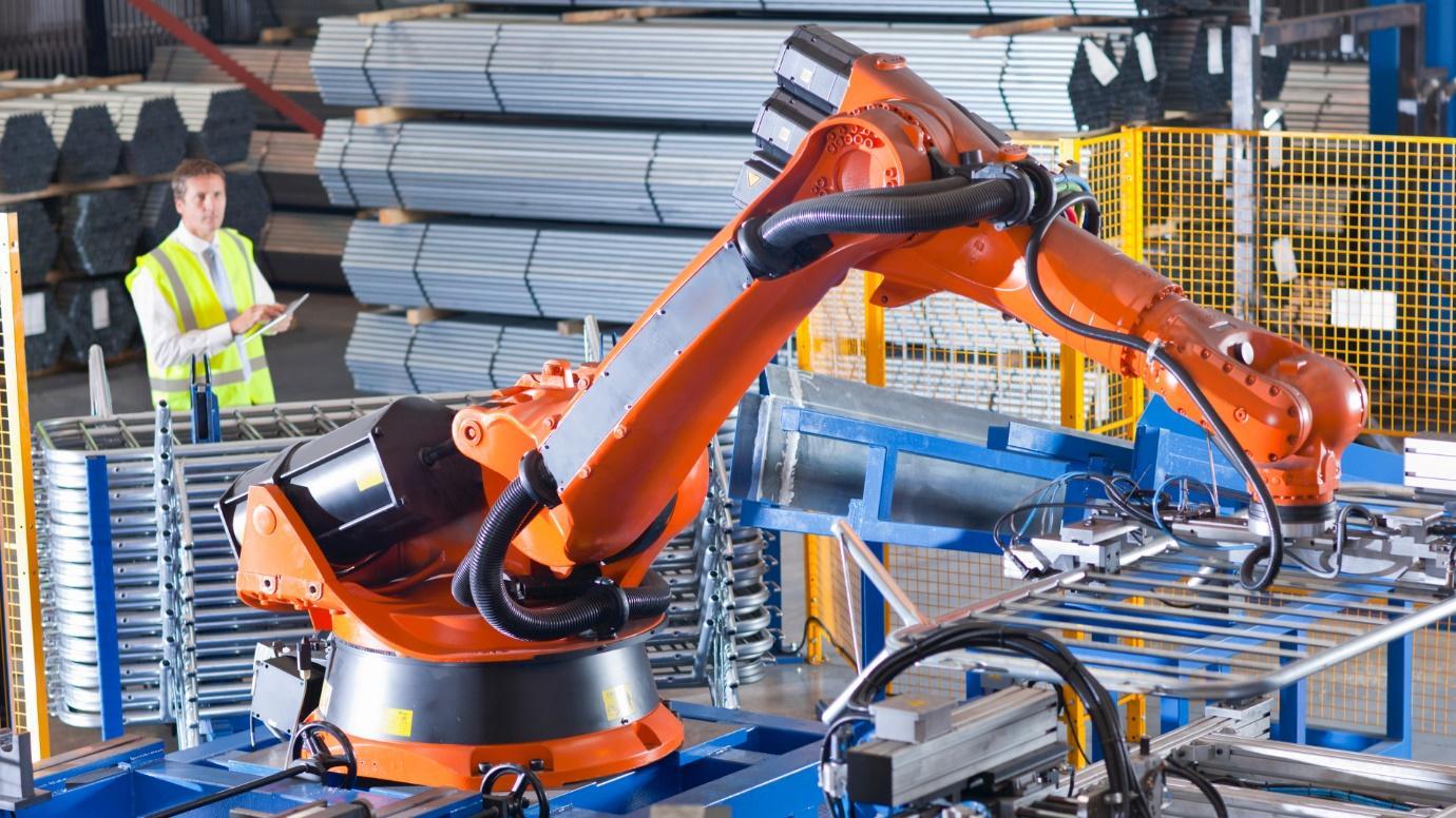 MÁy móc công nghiệp giảm bớt sức lao động của con người