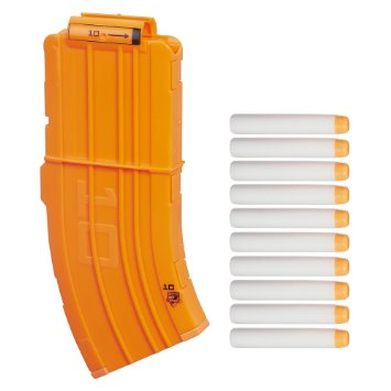 Image result for nerf 10 round mag