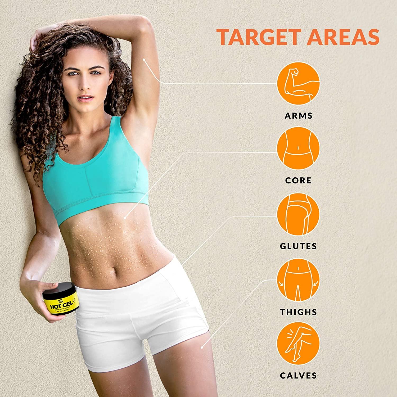Hot Vita Hot Gel – Sweat Cream Workout Enhancer Belly Slimming Gel