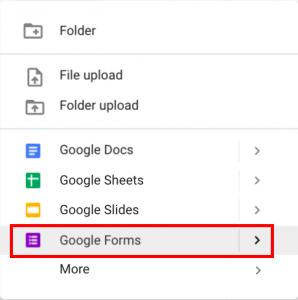 cara membuat google form akses google form 2