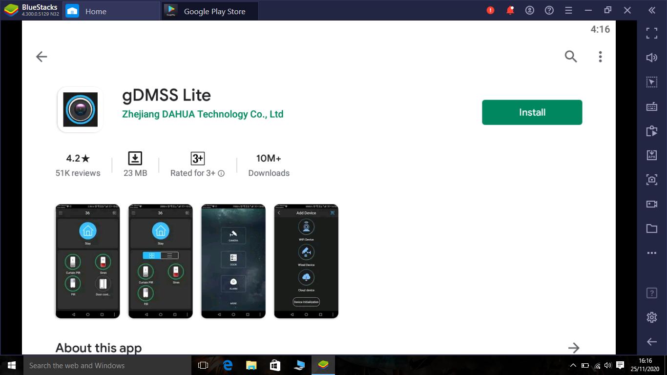 GDMSS Lite app