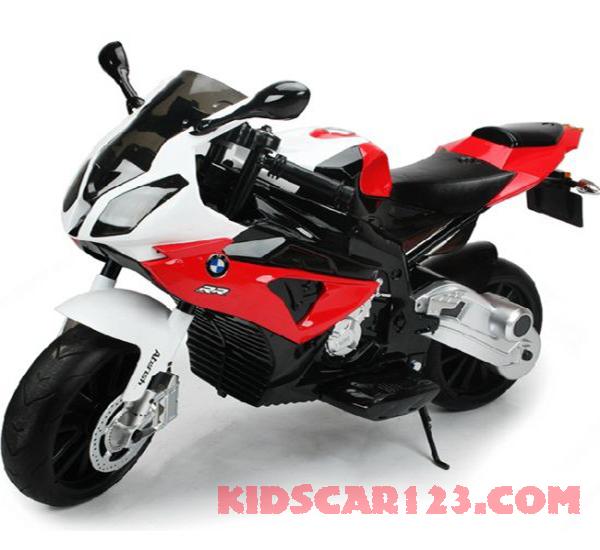 Xe máy điện trẻ em JT 528 màu đỏ 01