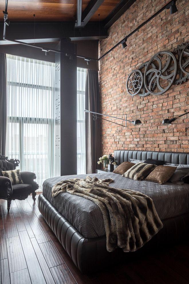 Industrial Modern Bedroom Decor
