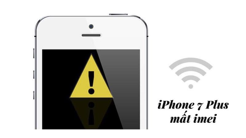 Sửa iPhone 7/7Plus bị mất imei uy tín