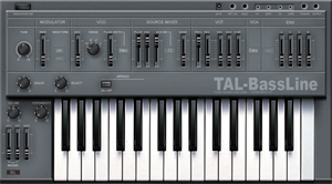 free vst instruments Tal-Bassline