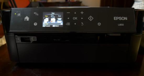 7) Impressora multifuncional Epson L850