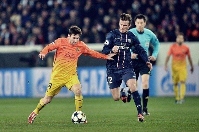"Barça Universal on Twitter: ""🗣️— David Beckham: ""When Messi was ..."
