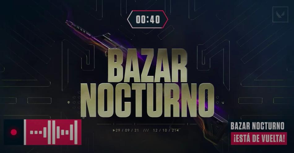 Una nueva edición del Bazar Nocturno llega a VALORANT