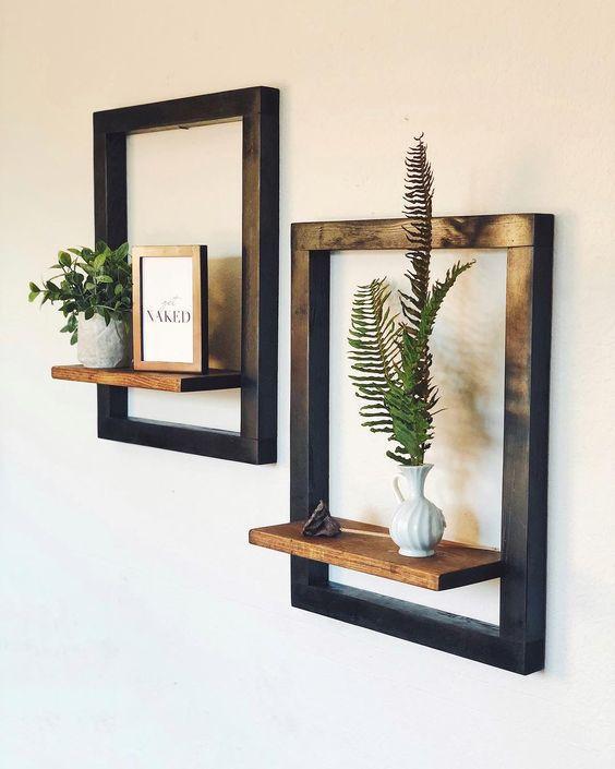 Begini Cara Membuat Rak Dinding Melayang Cantik Dan Minimalis