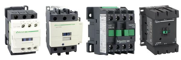 Thiết bị điện Schneider - Contactor (Khởi động từ) Schneider