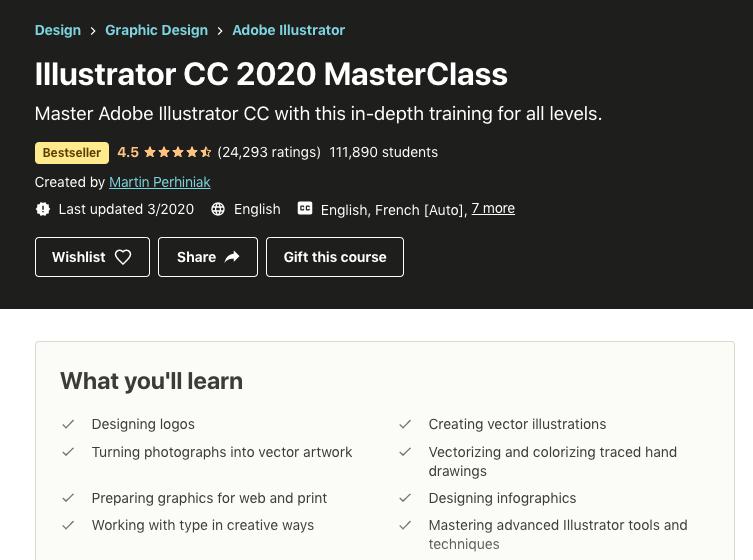 screenshot illustrator masterclass