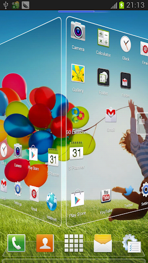 Galaxy S4 Next Theme Pro apk Description