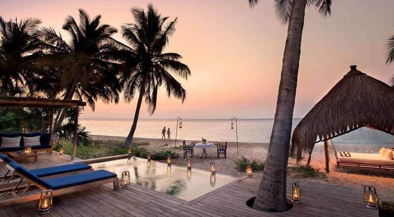 Mozambique Africa beach a good place for honeymoon