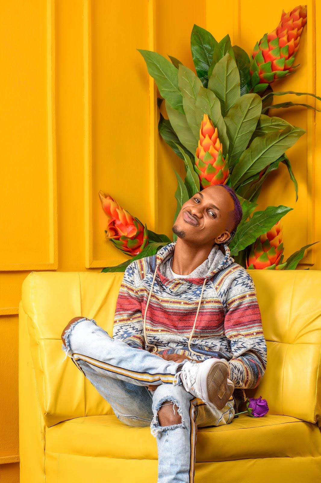 afrobeat artist yungace in pictures